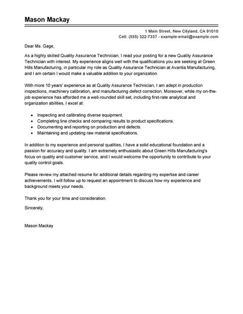 quality assurance cover letter writefiction581 web fc2 com