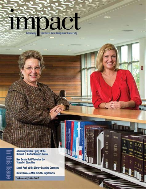 Mba On Snhu Is Gopd by Impact Advancing Southern New Hshire By