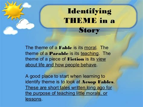 identifying theme in literature youtube all worksheets 187 identifying themes in literature