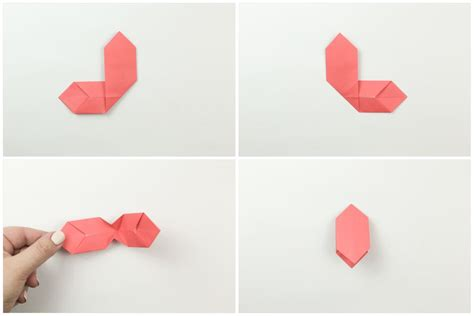 How To Make A Origami Bow Tie - easy origami bow tie tutorial