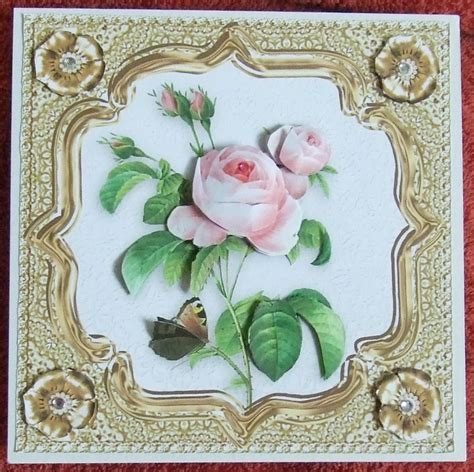Decoupage Cards Ideas - decoupage on cards cat cards and create and craft