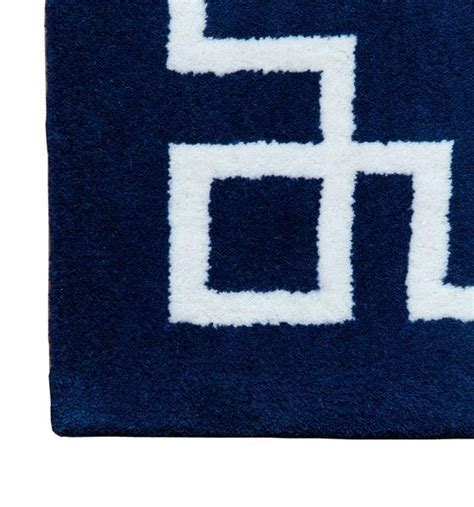 navy border rug navy blue and white rug roselawnlutheran