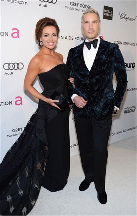 lisa robertsons new boyfriend lisa robertson pictures elton john s academy awards