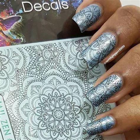 mandala tattoo transfer nail zen 306 mandala colouring in water transfer decal