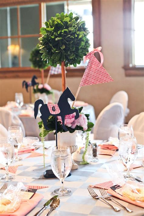 theme wedding shower centerpieces 36 best images about kentucky derby theme on