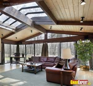 Apartment Ceiling Types Apartment Porch Cover Arcadia Louvered Roof Systems By Shade