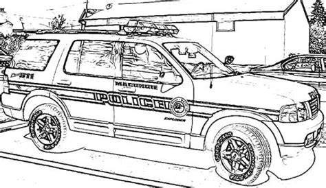 coloring pages of police cars lego police car coloring page for kids printable free