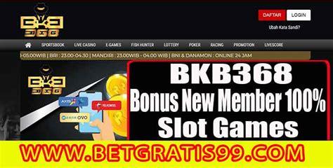 bkb bonus  member  slot games gudang betgratis