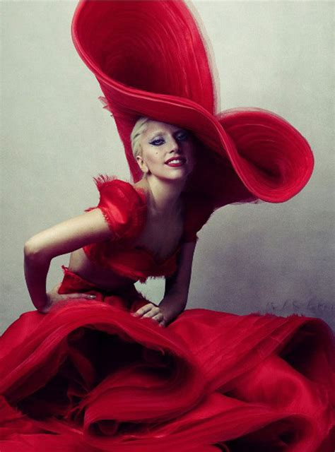 lady gaga red dress lady gaga s most dangerously daring outfits