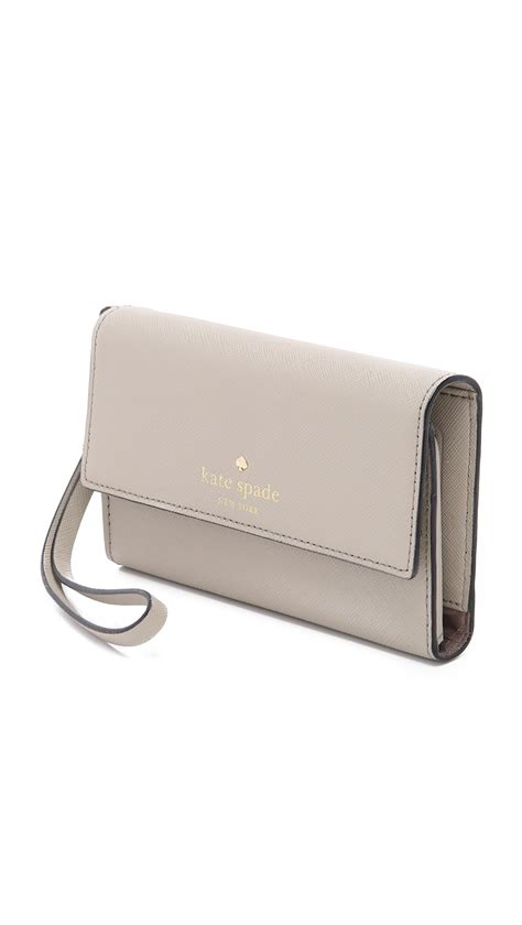 kate spade cedar street iphone 6 6s case wristlet in lyst kate spade new york cedar street iphone 6 6s case