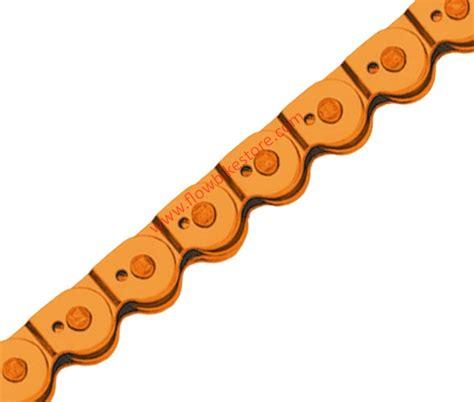 cadenas bici colores cadena point medio eslabon magic colour naranja para bmx