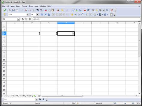 Spreadsheet Program by Free Spreadsheet Software