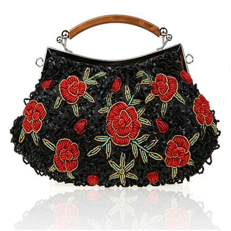 Floral Embroidered Evening Clutch by Aliexpress Buy Fashion Brand Ethnic Clutch Evening