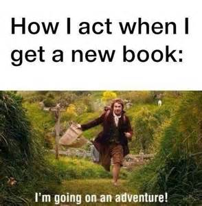 Reading Book Meme - how i act when i get a new book ermilia