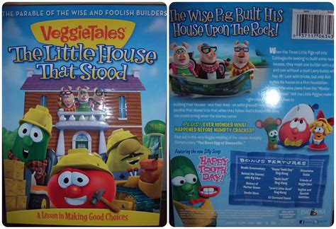 veggietales the little house that stood have sippy will travel