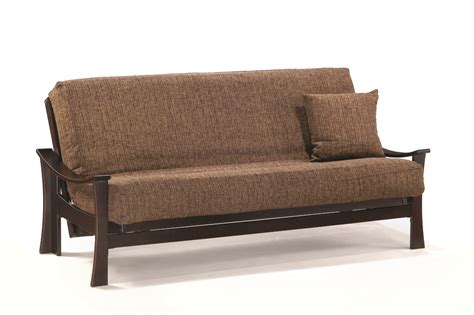Large Futon Deco Lounger Size Java Futon Set By J M Furniture