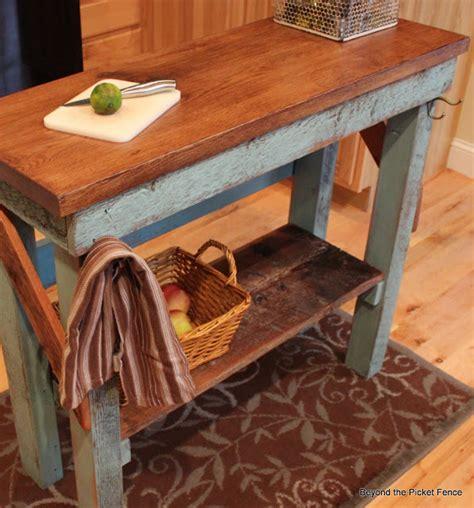 30 rustic diy kitchen island ideas diy craft s 30 rustic diy kitchen island ideas