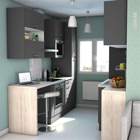 meuble de cuisine casserolier ginko gris 2 tiroirs 1
