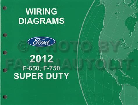 car engine manuals 2012 ford f series super duty electronic toll collection 2012 ford f 650 and f 750 super duty truck wiring diagram manual original