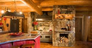 log cabin kitchens kitchen backsplash patterns kitchen