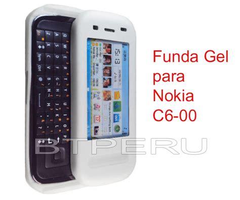 Casing Hp Nokia C6 00 funda gel silicona para nokia c6 c6 00 protector skin silicona a pen 12 en preciolandia