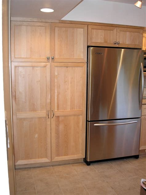 Fridge Pantry Cabinet by Pantry Cabinets And Refrigerator