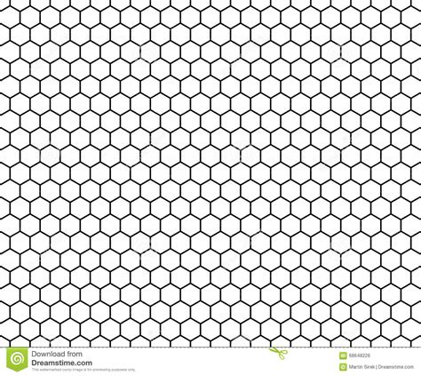 white hexagon pattern vector modern seamless geometry pattern hexagon black and