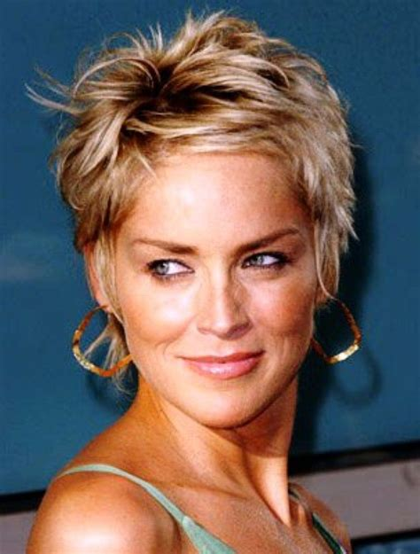 pictures for sharon stone hair shenion sharon stone short hair pics sharon stone pinterest