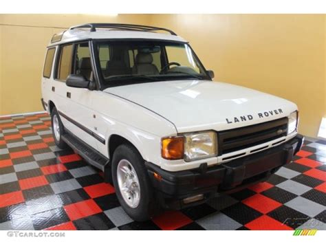 white land rover discovery 1998 chawton white land rover discovery le 52547693