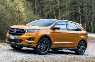 2017 ford edge sport and hybrid colors changes review