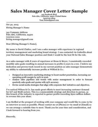 sle manager resume cover letter sales manager cover letter sle resume companion