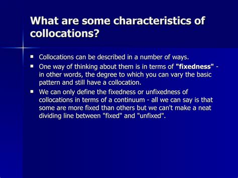 define collocate collocations