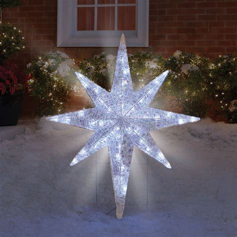 large lighted star outdoors star outdoor lights a true reflection of the real stars