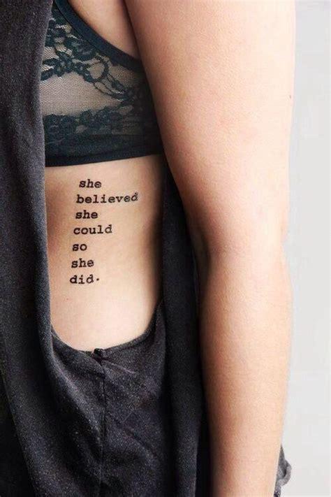 tattoo inspiration rippen quote tattoo rib tattoo my style pinterest rippchen