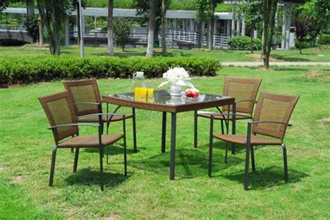 classic wrought iron patio furniture set by kettler