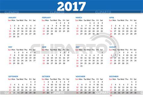 Calendã Vacinaã ã O 2017 2017 Fotos Stock Y Clipart Vectorial Eps Cliparto