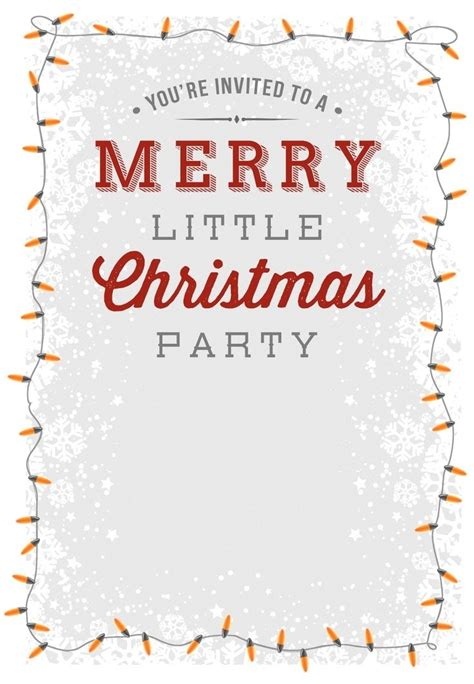 christmas party invitation templates to email svoboda2 com