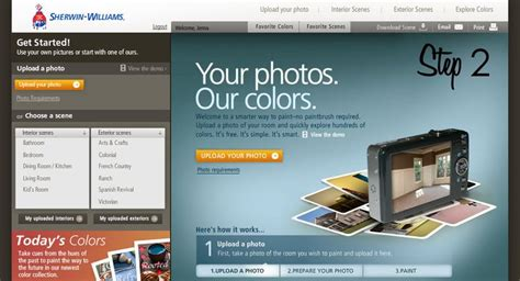 sherwin williams color visualizer tool 1000 ideas about sherman williams on pinterest sherman