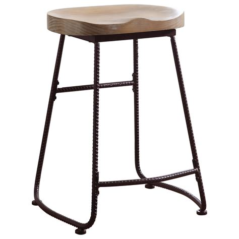 stool bar height coaster dining chairs and bar stools rustic counter height