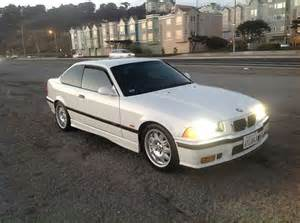 purchase used white on black 1998 e36 bmw m3 coupe