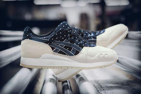 Asics Gel Lyte V Okayama Denim Premium High Quality asics gel lyte iii japanese textile sneaker
