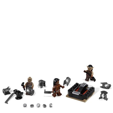 lego lord of the rings the orc forge 9476 toys zavvi