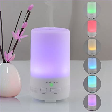 Usb Mini Ultrasonic Humidifier Colorful Light 165ml usb essential diffuser innogear 174 50ml computer portable mini ultrasonic cool mist aroma