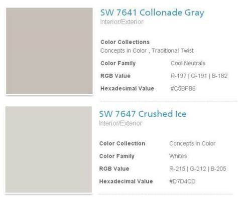 sherwin williams collonade gray search on the wall gray search