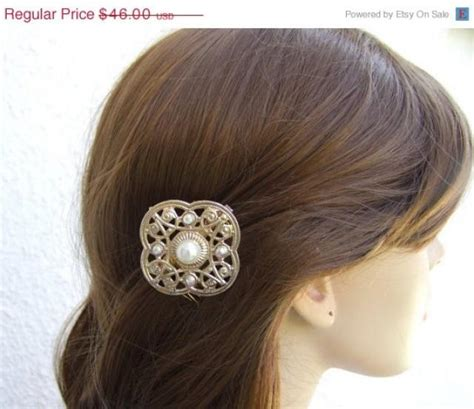 Vintage Gold Wedding Hair Accessories by Sale Gold Wedding Hair Accessories Vintage Hair Comb