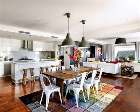 Dining Table In Kitchen Or Living Room Amusing Open Plan Kitchen Dining Room Designs Ideas 74 In