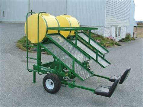 Water Wheel Planter flo model 1600 series ii water wheel transplanter tubbs berry farm