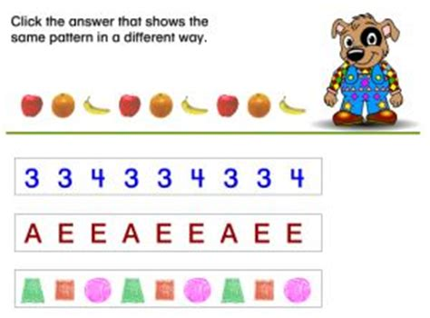 online number pattern games online pattern games and math sequences for kids