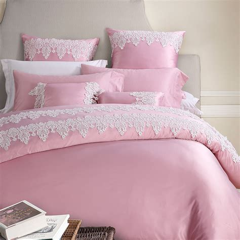 Bridal Bed Sets 4 6 Pieces Imitated Silk Lace Luxury Bedding Set King Size Bed Set Wedding Bedding Sets