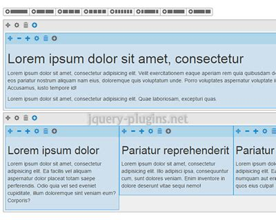 css layout editor wysiwyg 9 best jquery grid layout ginva
